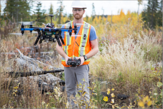 Drones Track Forest Regeneration in Canadian Cut Blocks
